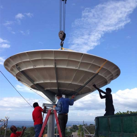 Prodelin 1451 Series 4.5m Satellite Dish