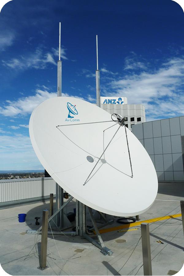 Prodelin 1374 Series 3 7m Satellite Dish Av Comm