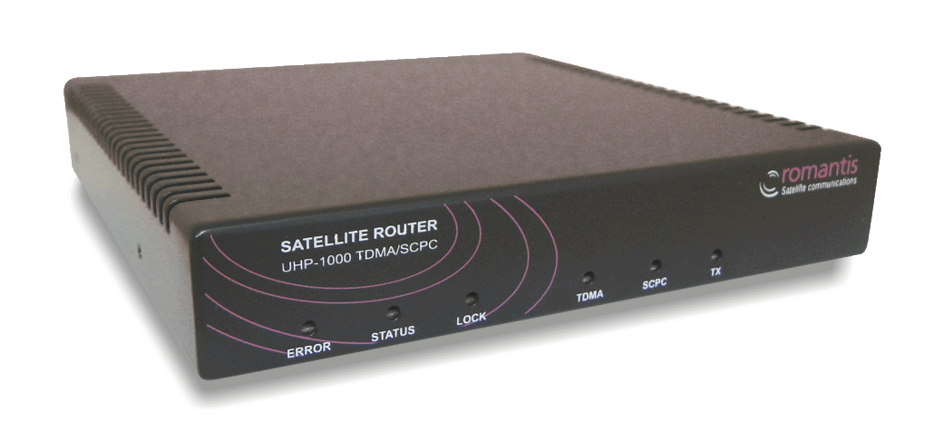 UHP 1000 Satellite Router