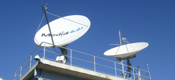 media hub dish installation
