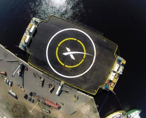 SpaceX Ocean Platform