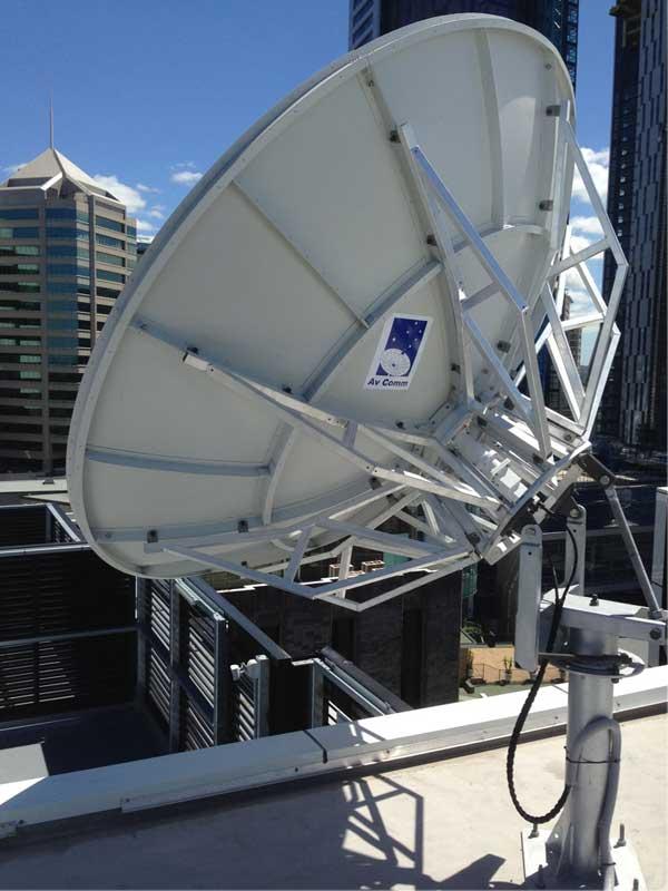 Suman 24m Satellite Dish