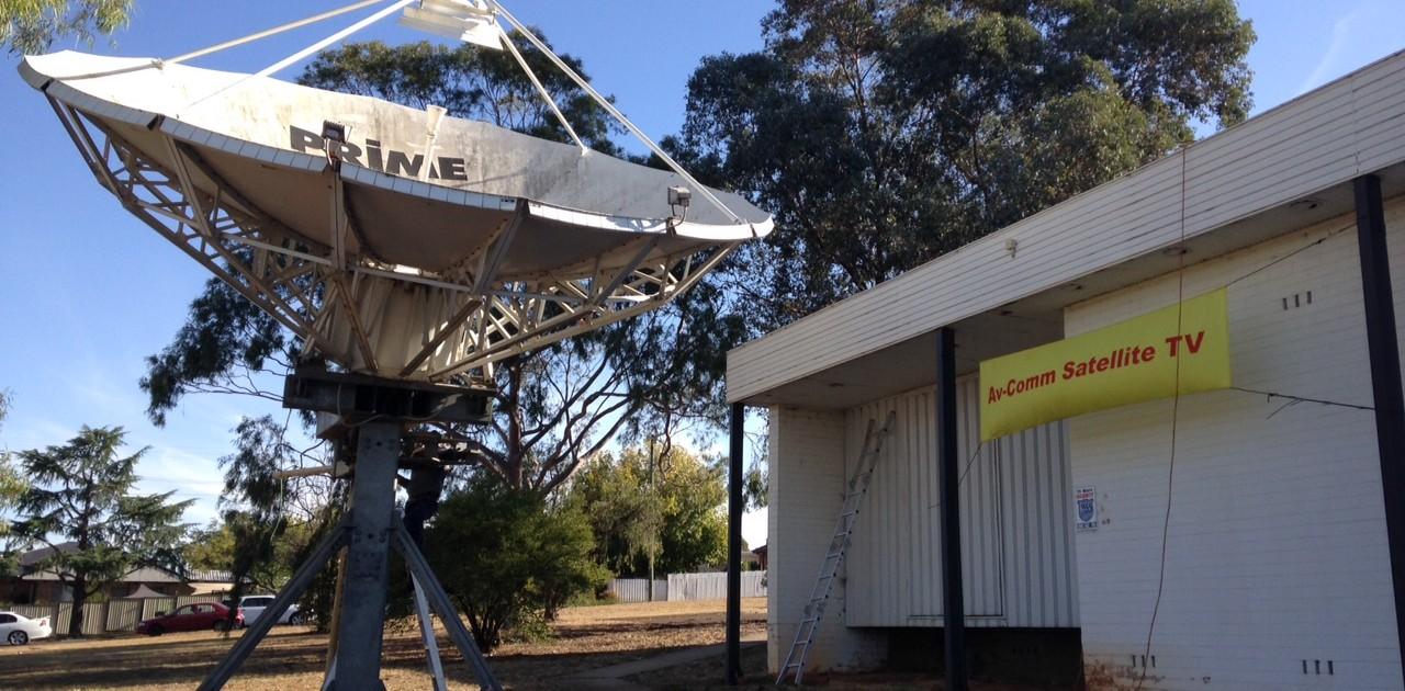 Andrew 6.5m Satellite Dish