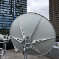 Suman 2.4m C Band Satellite Dish Rear