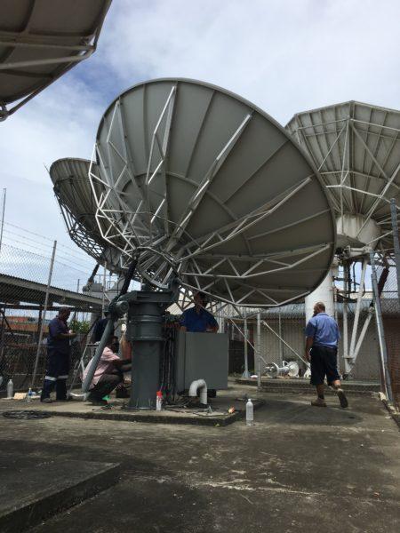 Av-Comm 4.5m C Band Inclined Orbit Antenna System