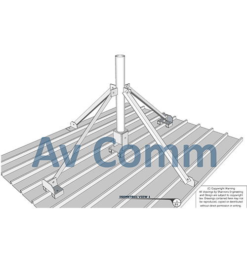 Engineered Antenna Roof Mount – Av-Comm