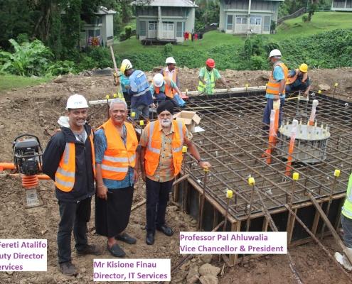 USP Foundation Works Milestone