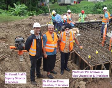 USP Fiji Satcom Project